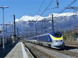 Europe High Speed Train Map Eurostar Wikipedia