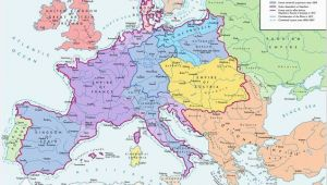 Europe Map 1812 A Map Of Europe In 1812 at the Height Of the Napoleonic