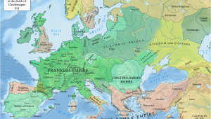 Europe Map 1980 Early Middle Ages Wikipedia