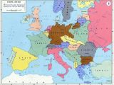 Europe Map before and after Ww2 10 Explicit Map Europe 1918 after Ww1