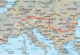 Europe Map Danube River Danube Wikipedia