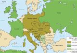 Europe Map During Ww1 Europe Map after Ww1 Climatejourney org