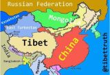 Europe Map In Chinese We Ve Redrawn the Map for Truetibet Eastturkistan