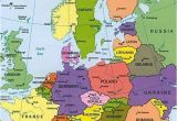 Europe Map In German Map Of Europe Countries January 2013 Map Of Europe