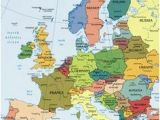Europe Map Landforms 19 Best Geography Images In 2015 Geography World