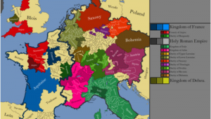Europe Map Moscow Western Europe 1152 Ad Europe Map Cartography