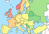 Europe Map No Labels 53 Strict Map Europe No Names