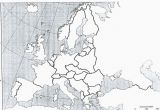 Europe Map No Labels World Map No Label Climatejourney org