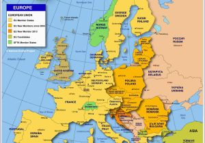 Europe Map Quiz with Capitals Map Of Europe Member States Of the Eu Nations Online Project