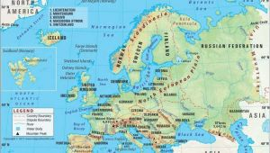 Europe Map Quiz with Capitals Understandable Outline Map Of northeast United States High