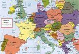 Europe Map San Marino Spain On the Map Of Europe