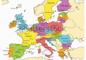 Europe Map with Countries and Capitals Names 28 Thorough Europe Map W Countries