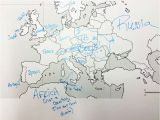 Europe Map without Country Names 28 Thorough Europe Map W Countries