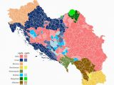 Europe Map Yugoslavia Ethnic Composition Of Yugoslavia In 1961 Sized by Population