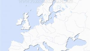 Europe Physical Map Blank Europe Blank Physical Map Lgq Me