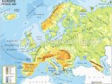 Europe Physical Map Labeled 29 Definite Physical Map Test