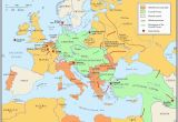 Europe Pre Ww1 Map 10 Explicit Map Europe 1918 after Ww1