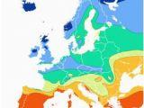 Europe Sunshine Map Map Data A
