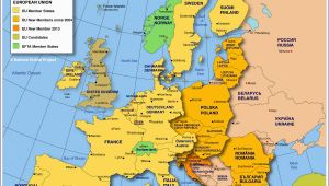 Europe with National Boundaries Map Map Of Europe Member States Of the Eu Nations Online Project