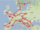 Eurostar Map Europe How to Travel Europe by Train Travel Europe Train Travel