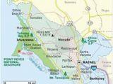 Fairfax California Map 97 Best California Maps Images California Map Travel Cards