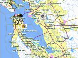 Fairfax California Map Blank Map California Map Of San Francisco California Bay area