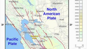 Faults In California Map Hayward Fault Zone Wikipedia