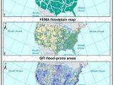 Fema Flood Maps Colorado Pdf Dataset Of 100 Year Flood Susceptibility Maps for the