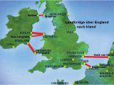 Ferries From Uk to Ireland Map Fahren Irland Landbridge England Nach Irland