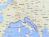 Ferry From Italy to Greece Map Italy Travelteachtalk