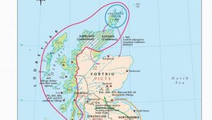 Ferry Ireland to Scotland Map Map Of Viking Scotland 800 1014 Scottish Maps and Resources