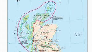 Ferry Ireland to Scotland Map Map Of Viking Scotland 800 1014 Scottish Maps and Resources
