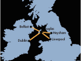 Ferry Routes to Ireland Map Ferries to and From the isle Of Man Manx Ferries