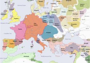 Feudal Europe Map Euratlas Periodis Web Map Of Europe In Year 1200