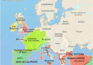 Feudal Europe Map Map Of Europe at 200ad Timemaps