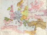 First Map Of Europe A Map Of Europe In 1097 Ad the Time Of the First Crusade