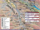 Fly Fishing Colorado Map Roaring fork River Fishing Map