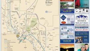 Fort Bliss Texas Map 2016 El Paso fort Bliss Map by Mesa Publishing Corp Blue Sky