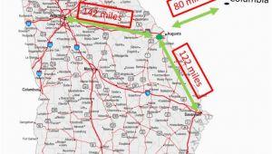 Fort Gordon Georgia Map New Arrivals