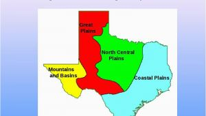Four Regions Of Texas Map Texas is A Vast State Made Up Of Many Different Natural Elements and