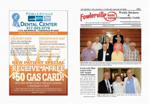 Fowlerville Michigan Map Fowlerville News and Views by Steve Horton issuu