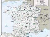 France Mediterranean Coast Map Map Of France Departments Regions Cities France Map