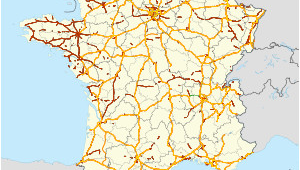 France Motorway Map Autoroutes Of France Revolvy