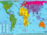 France On the Map Of the World Cont From the Peter S Projection Map Depicting Relative