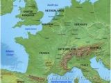 France Physical Features Map European Physical Map Climatejourney org