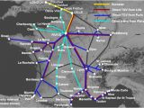 France Tgv Map Trains From London to France From A 35 London to Nice