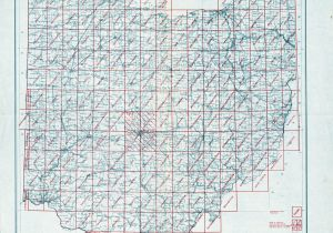 Franklin County Ohio township Map Ohio Historical topographic Maps Perry Castaa Eda Map Collection