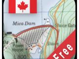 Free topo Maps Canada Canada topo Maps Free Aplikacje W Google Play