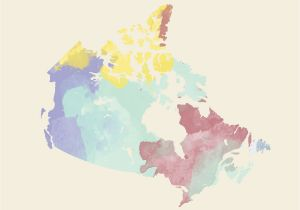 French Map Of Canada with Capitals Canadian Provinces and Territories Translated to French