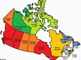 French Map Of Canada with Provinces and Capitals This Map Shows the Most Popular Language In Each Province and